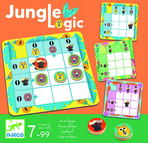 Joc logic jungle djeco