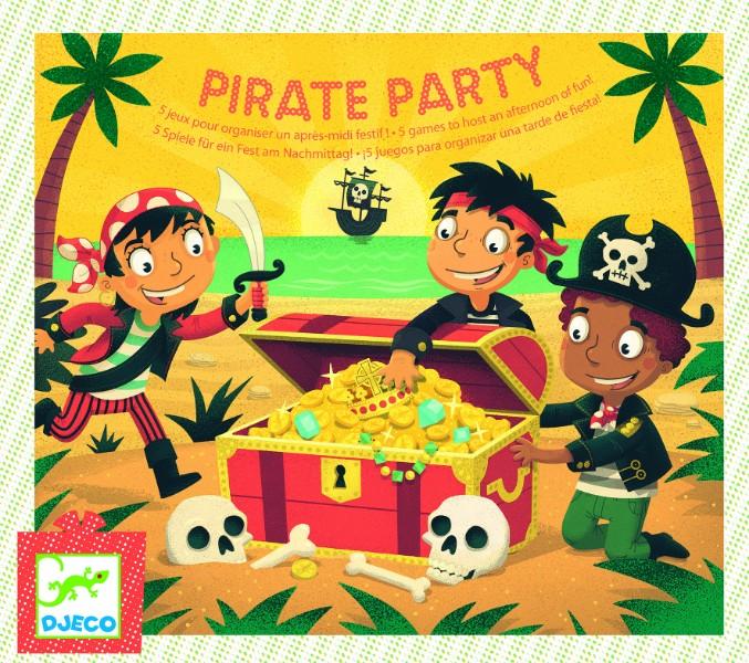 Joc de petrecere gaseste comoara cu pirati djeco