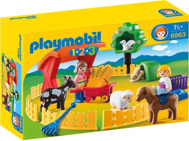Animale la zoo playmobil 1.2.3 imagine