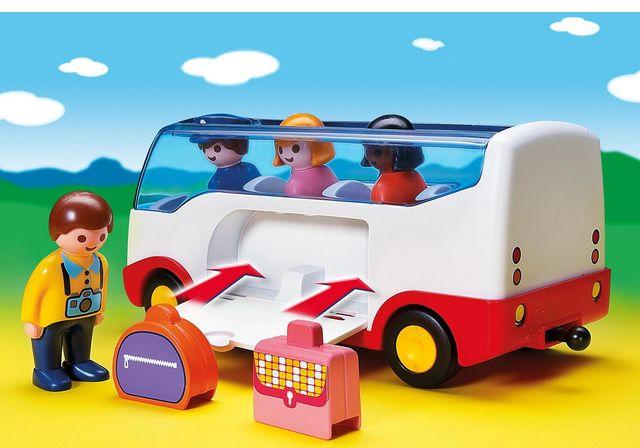 Autobuz playmobil 1.2.3 - 2