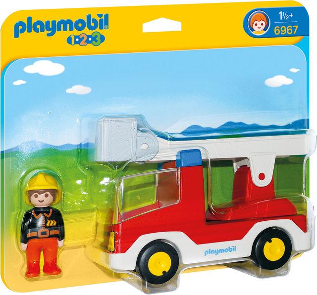 Camion cu pompier playmobil 1.2.3