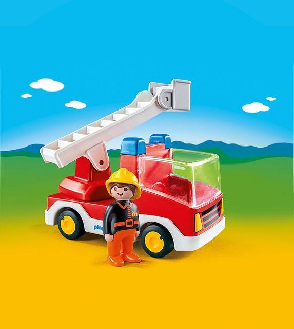 Camion cu pompier playmobil 1.2.3 - 1