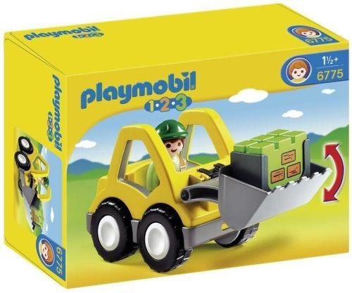 Excavator playmobil 1.2.3