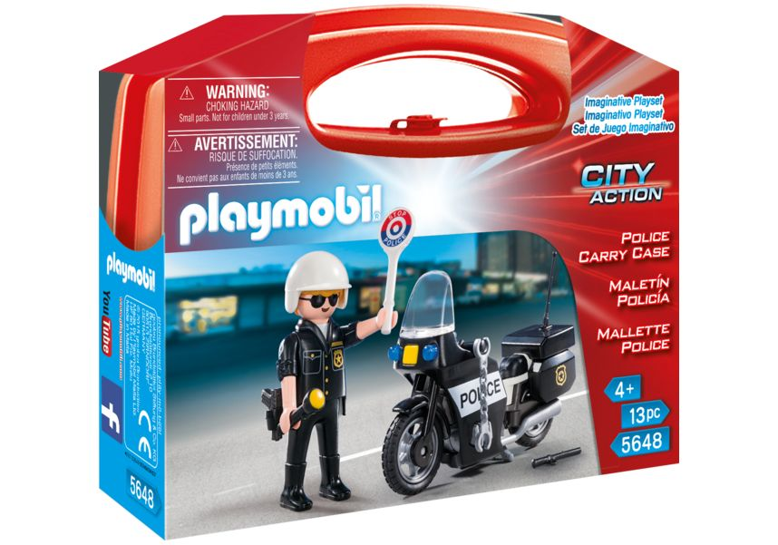 Set portabil politie playmobil city action