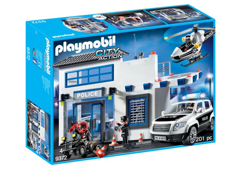 Sectie de politie playmobil city action