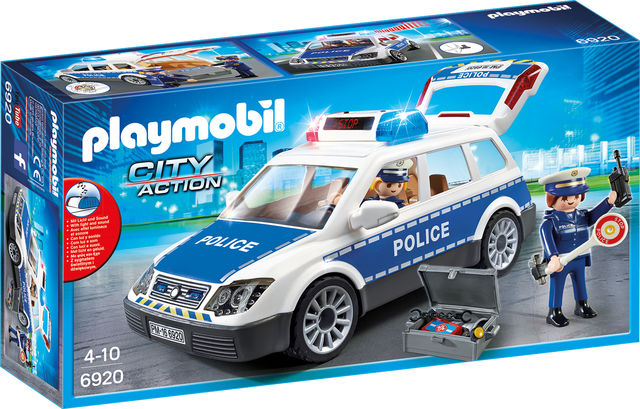 Masina de politie playmobil city action