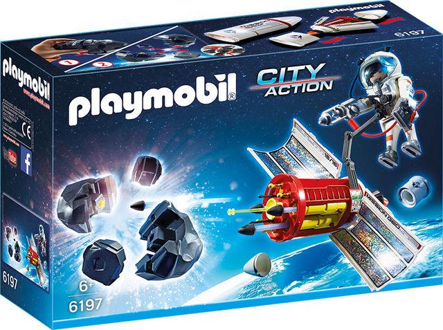 Distrugatorul de meteoriti playmobil city action imagine