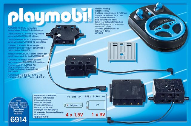 Set telecomanda 2.4ghz playmobil city action - 1