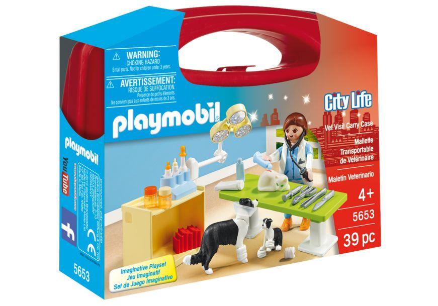 In vizita la veterinar playmobil city life