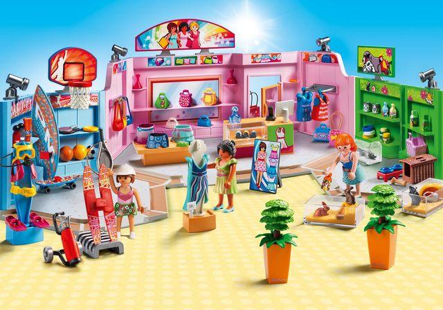 Centru comercial playmobil city life - 1