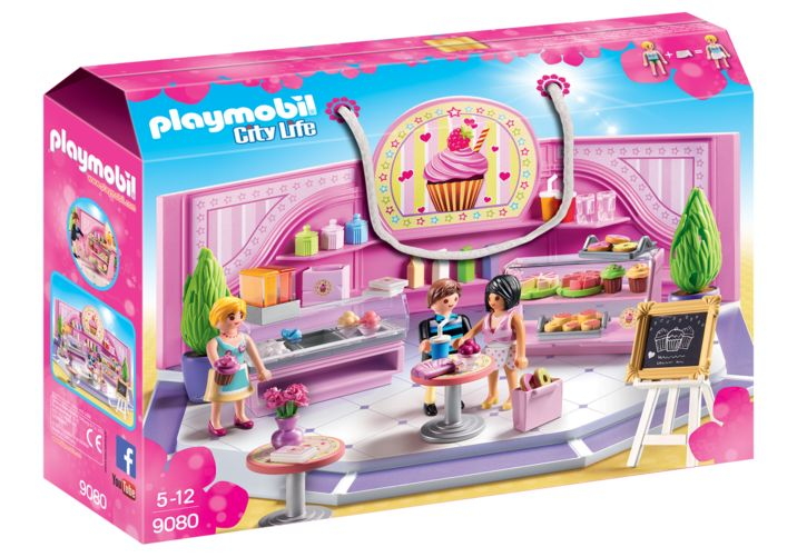 Cofetarie playmobil city life