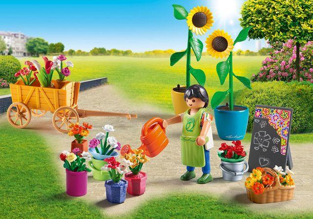 Florar playmobil city life - 3