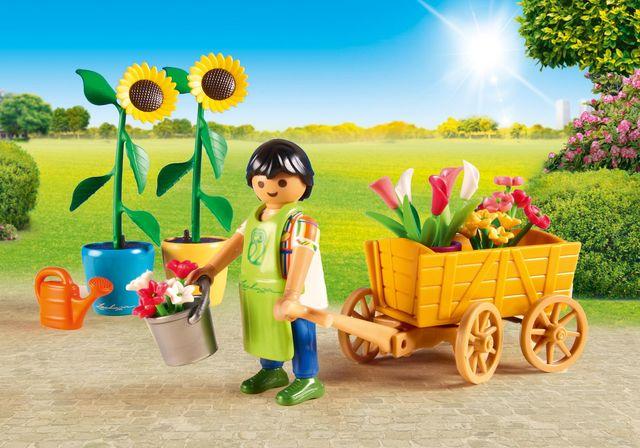 Florar playmobil city life - 2