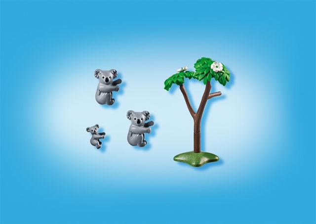 Familie de koala playmobil city life - 1