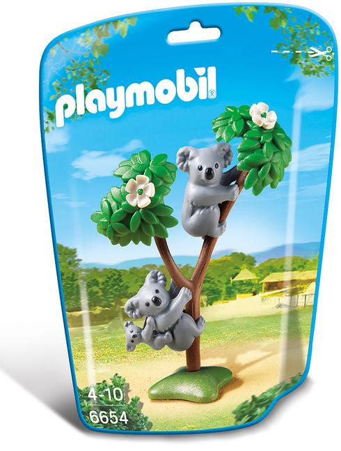 Familie de koala playmobil city life