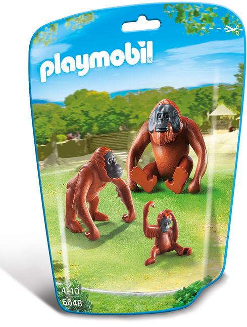 Familie de urangutani playmobil city life