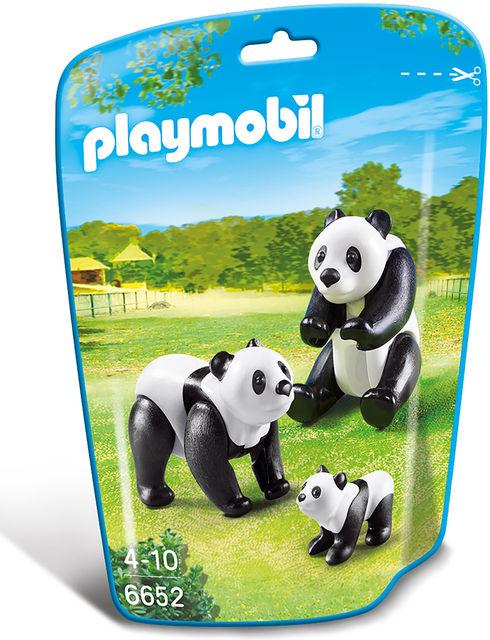 Familie de ursi panda playmobil city life imagine
