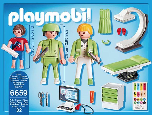 Camera cu raze x playmobil city life - 1