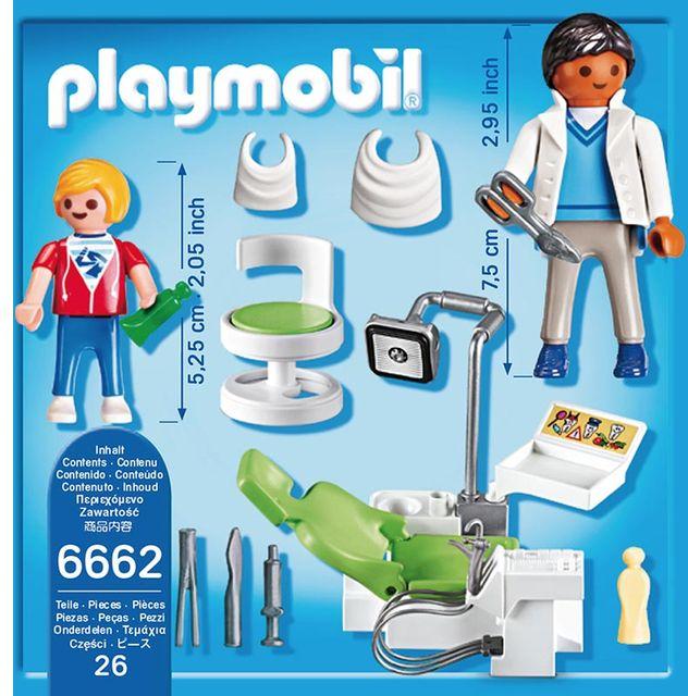 Dentist si pacient playmobil city life - 1