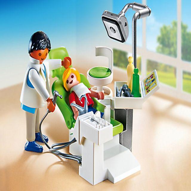 Dentist si pacient playmobil city life - 2