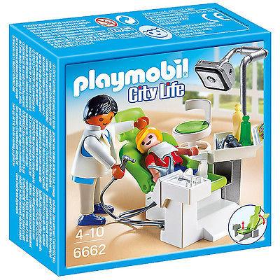 Dentist si pacient playmobil city life
