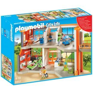 Spitalul de copii echipat playmobil city life