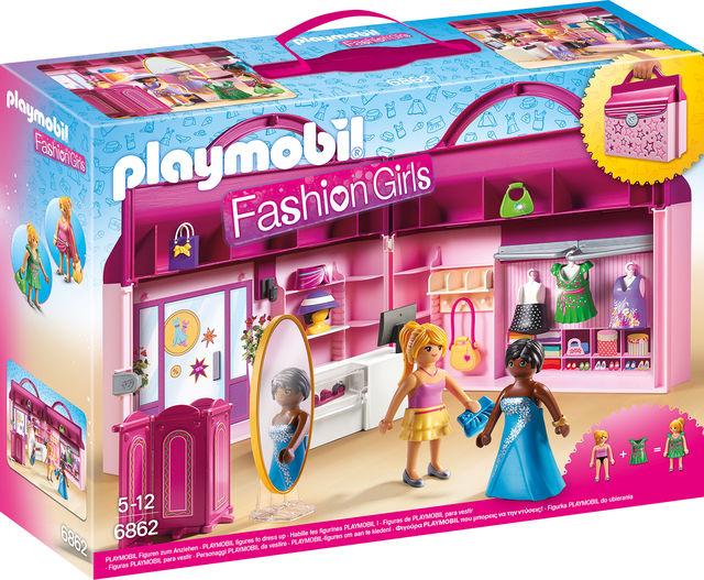 Set mobil butic cu haine playmobil city life