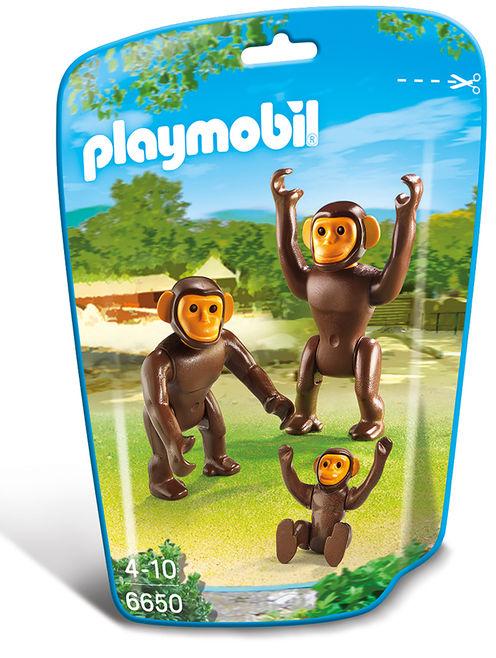 Familie de cimpanzei playmobil city life