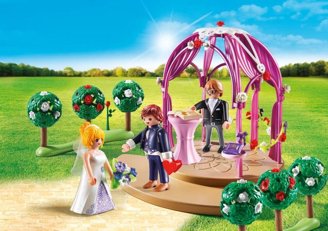 Ceremonie de nunta playmobil city life - 1
