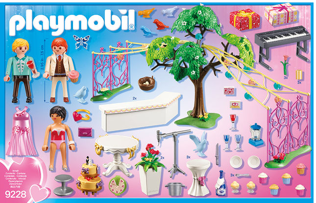 Festivitate de nunta playmobil city life - 2