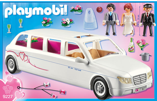 Limuzina de nunta playmobil city life - 2