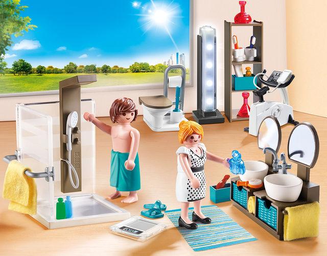 Baie din casa moderna playmobil city life - 2