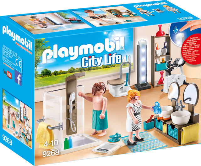 Baie din casa moderna playmobil city life