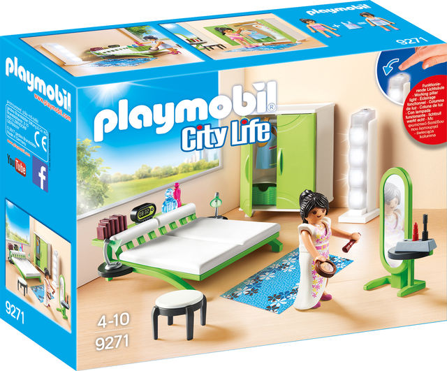 Dormitor playmobil city life