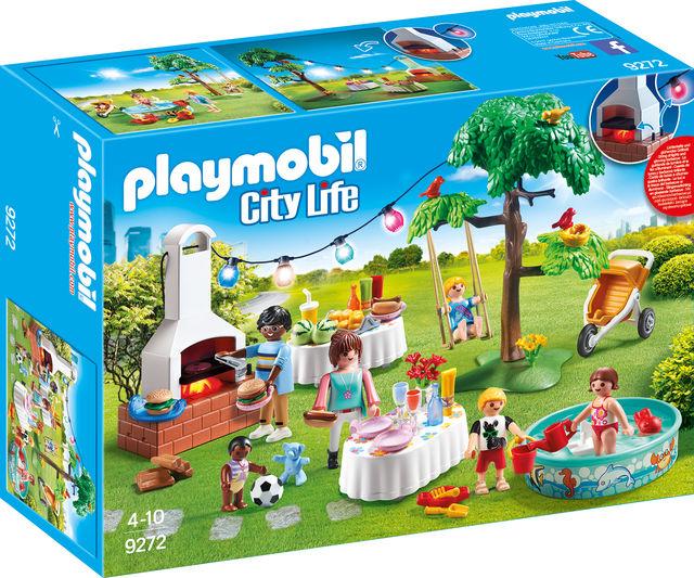 Petrecere in gradina playmobil city life