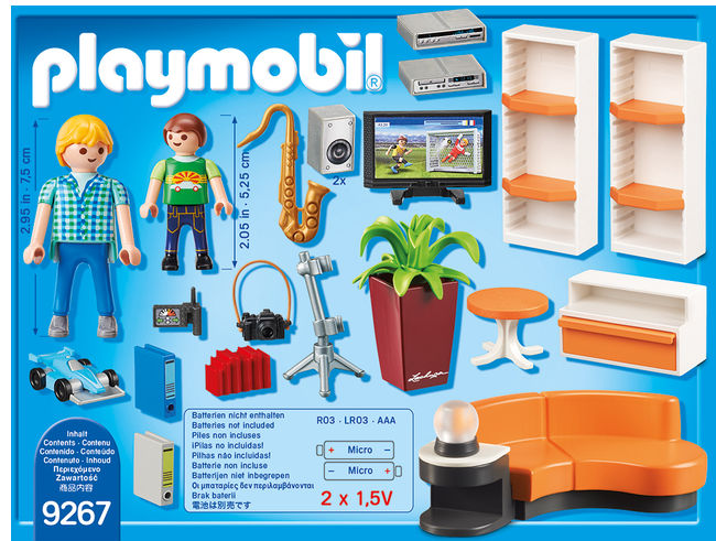 Sufragerie playmobil city life - 2