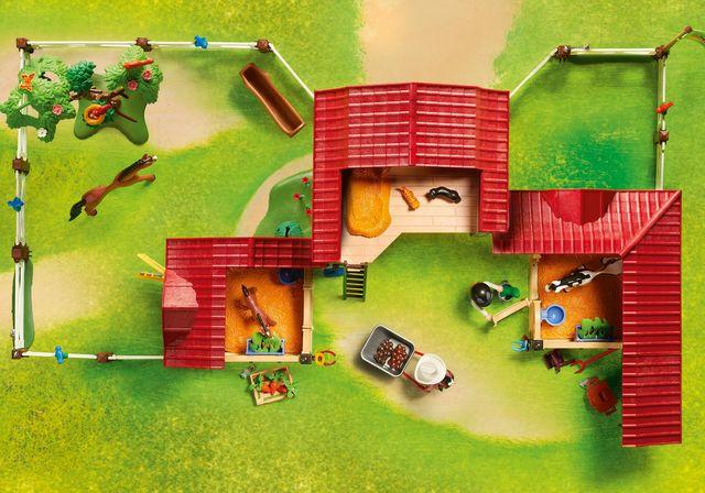Ferma calutilor playmobil country - 2