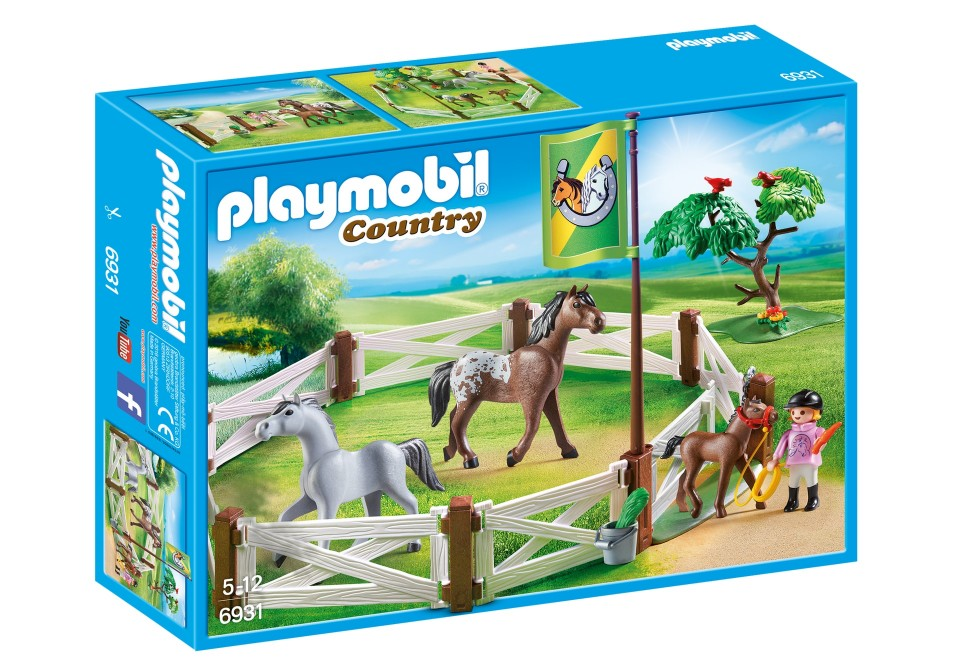 Tarcul cailor playmobil country imagine