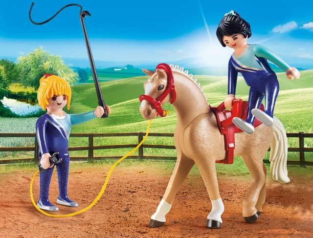 Lectie de calarie playmobil country - 3