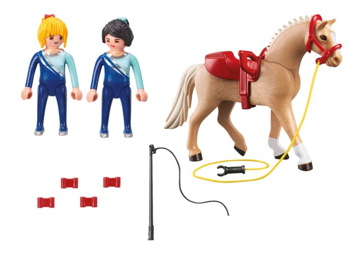 Lectie de calarie playmobil country - 1