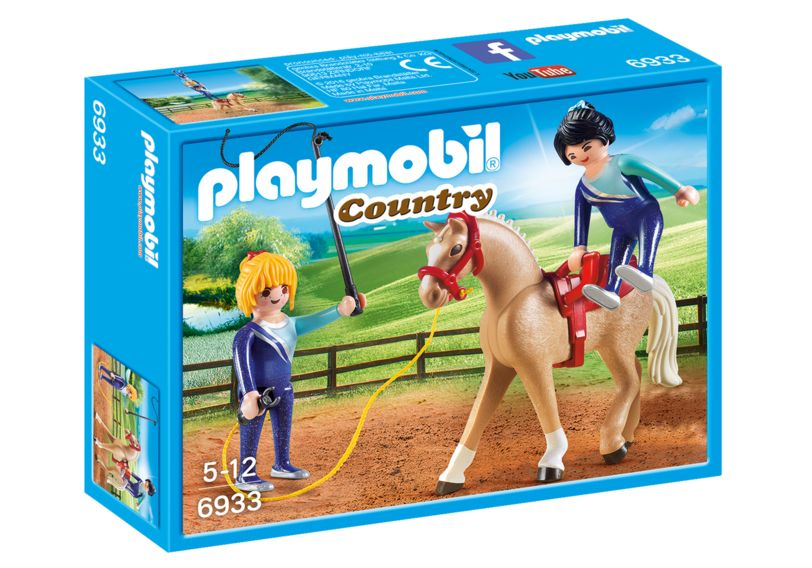 Lectie de calarie playmobil country