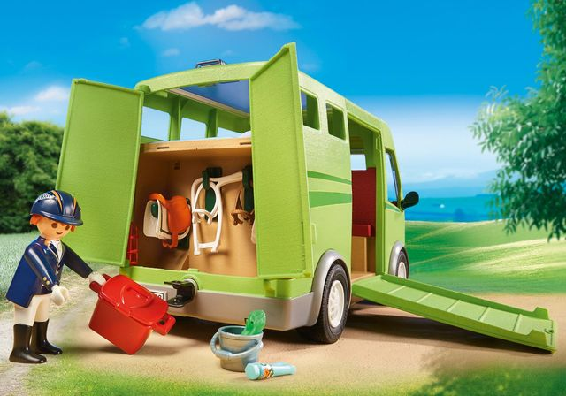 Transportor de cai playmobil country - 2