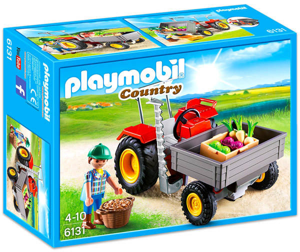 Tractor de recoltare playmobil country imagine
