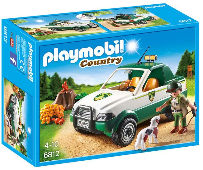 Transportor de lemne cu macara playmobil country imagine