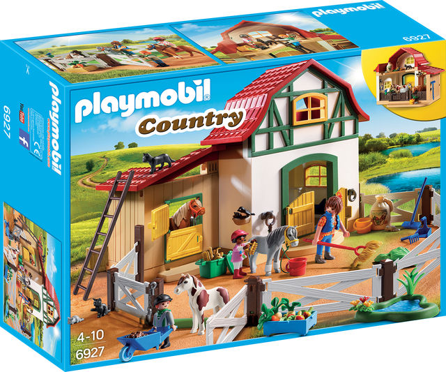 Ferma poneilor playmobil country