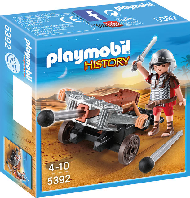 Legionar cu balista playmobil history