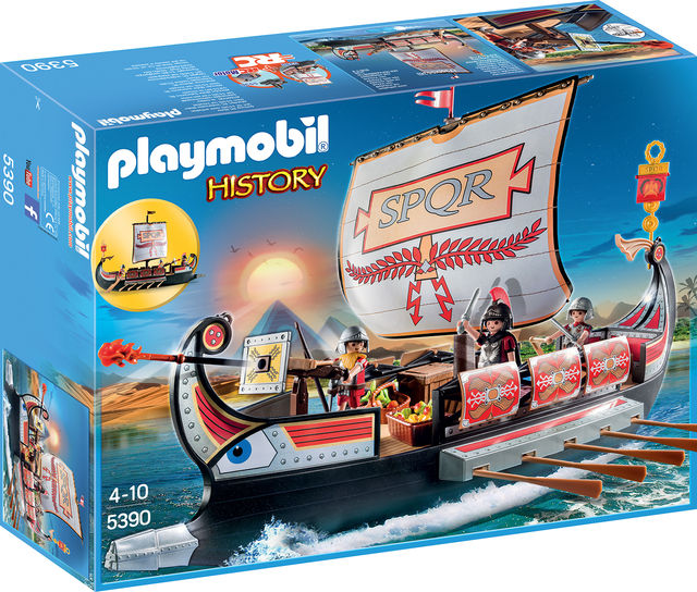 Nava razboinicilor romani playmobil history