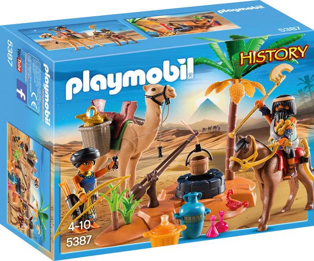 Tabara faraonilor playmobil history