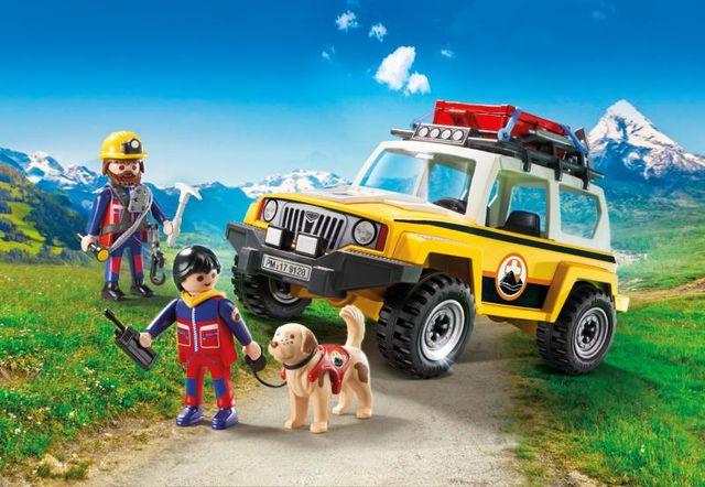Salvatori montani cu camion playmobil action - 3