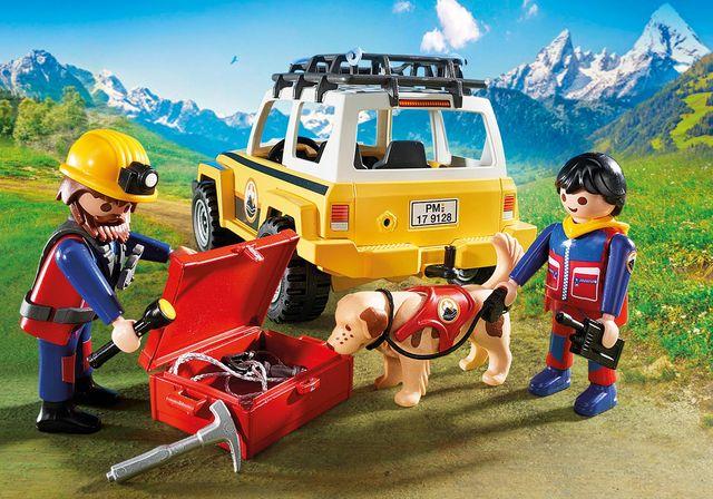 Salvatori montani cu camion playmobil action - 2